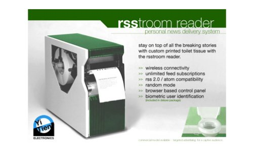 RSStroom Reader: News on toilet paper