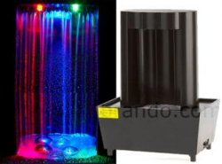 A USB LED waterfall for your desk