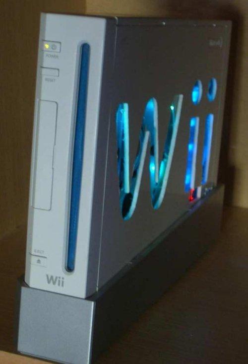 Wii case mod