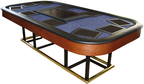 X10 Automated Poker Table with touchscreens