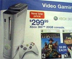 K-Mart circular leaks Xbox 360 price cut