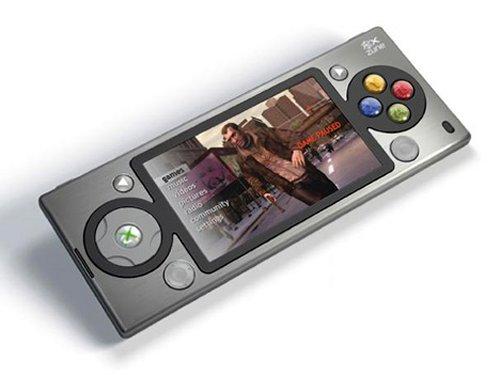 Portable XBox 360/Zune phone
