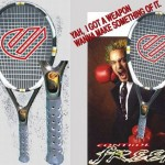 Control Freek Tennis Racquet with air-conditioned handle