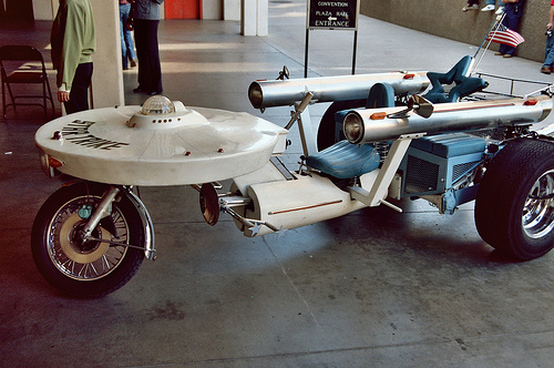 A bike for the final frontier