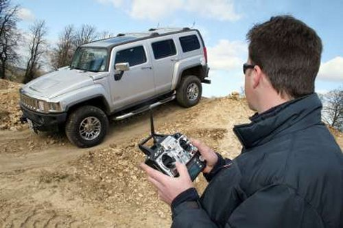 Remote Control Hummer H3 is life sized