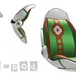Samsonite's Tot Pod concept
