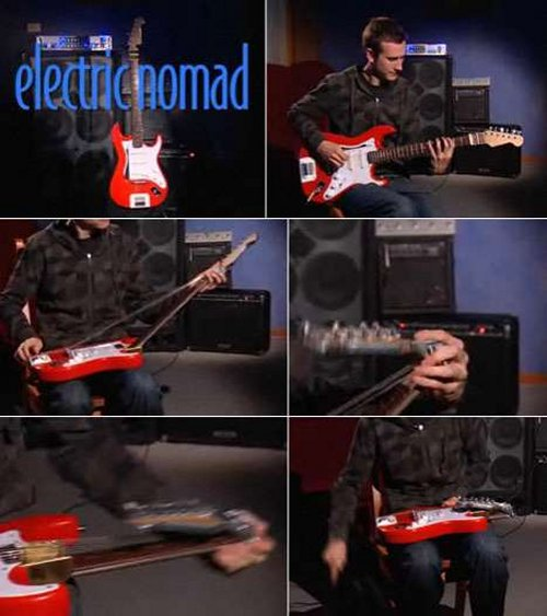 Nomad Electric Guitar folds up