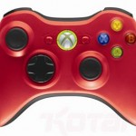 Red & green limited edition Xbox 360 controllers