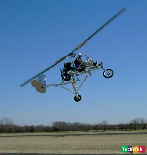 The incredible flying motorcycle