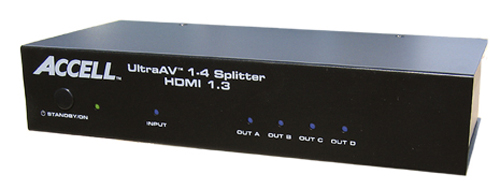 Accell UltraAV 14 HDMI 1.3 Splitter