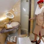 Emirates Airline announces in-flight showers