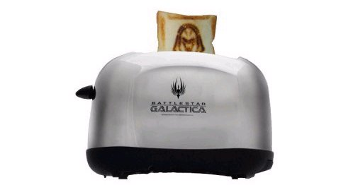 What the frak: Battlestar Galactica Cylon toaster