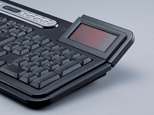 Solar powered Buffalo wireless keyboard
