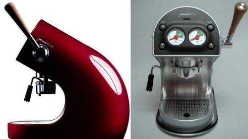 Brunopasso pod espresso machine looks fast, stands still