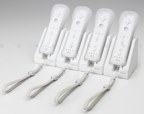 Sanyo's Eneloop rechargeable battery packs for the Wii