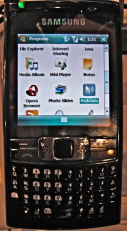 Samsung BlackJack III details