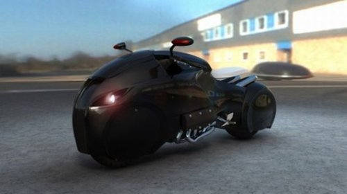 Enzyme Icare motorcycle: Ride like the Dark Knight