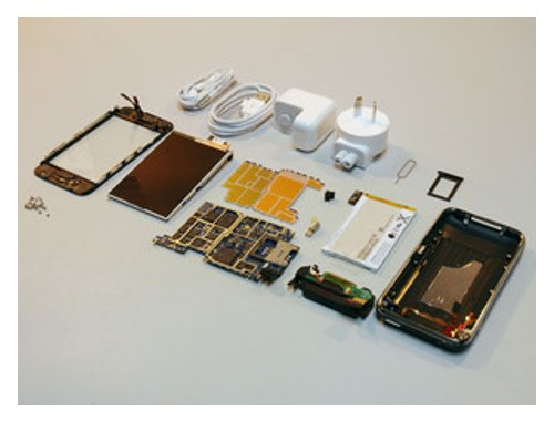 iPhone 3G taken apart