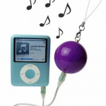Speaker turns your iPod into a ball and chain