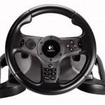 Logitech debuts PS3 force feedback steering wheel