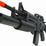 Hobbytron M4 ElectricAirsoft Rifle is perfect for woodpeckers