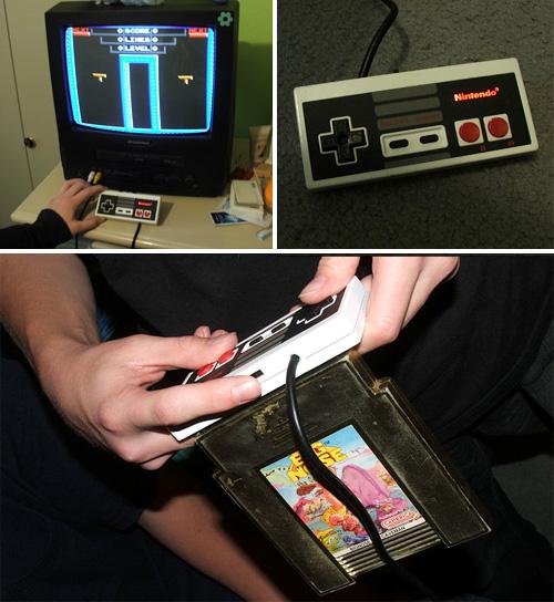 Modder fits NES clone inside NES Controller