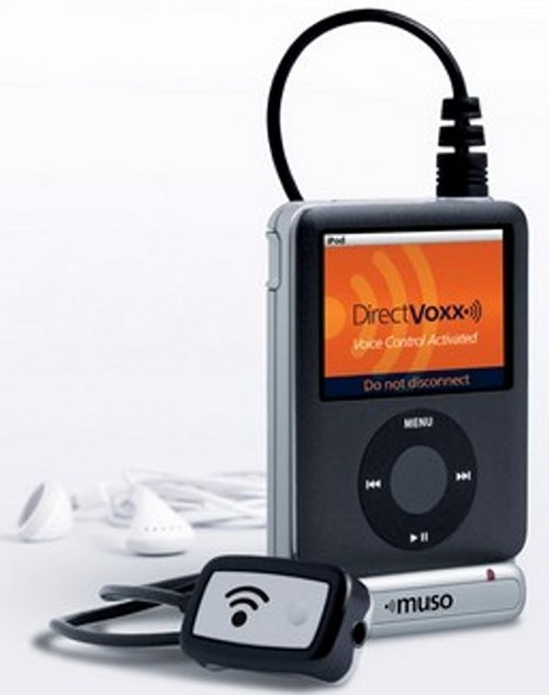 Muso voice control for your iPod