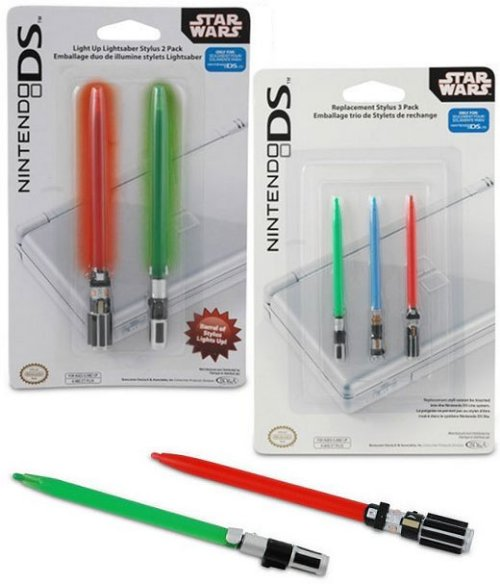 Nintendo DS replacement lightsaber stylus