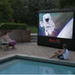 Open Air Cinema complete backyard theater kit now available