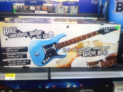 New wireless Guitar Hero controller for the Wii spotted