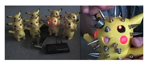 Modified Pikachu instruments freak us out