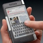 Plica phone concept with dual screen display