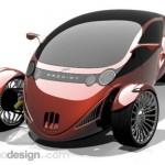 Proxima concept car, bike is two faced
