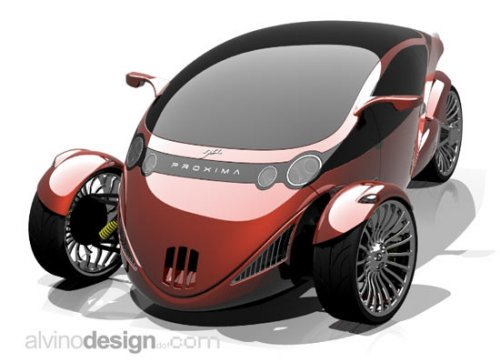 Bikes That Look Like Cars Proxima concept car bike