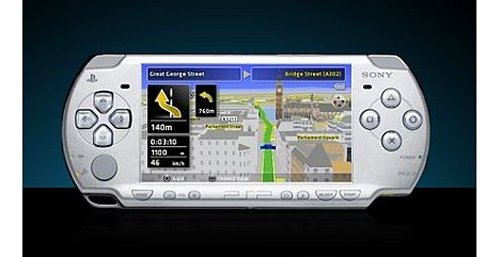 GPS games coming for the Sony PSP