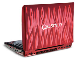 Toshiba Qosmio X305 Gaming notebook