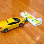 RC sweeper mop makes cleaning fun