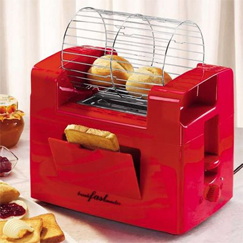 Toaster makes even your buns toasty, not a Hamster sauna