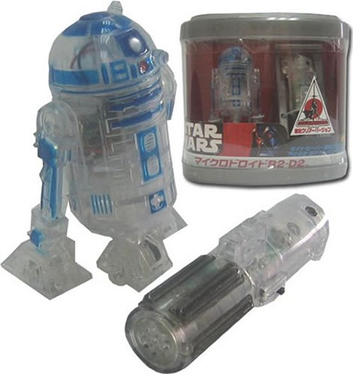 Tomy RC R2-D2 becomes see-through D2