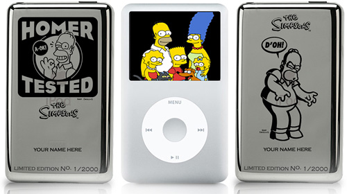 Limited Edition Simpsons iPods