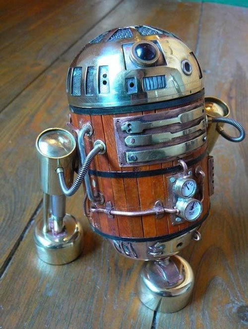What's Your Hurdle? Steampunk-r2d2