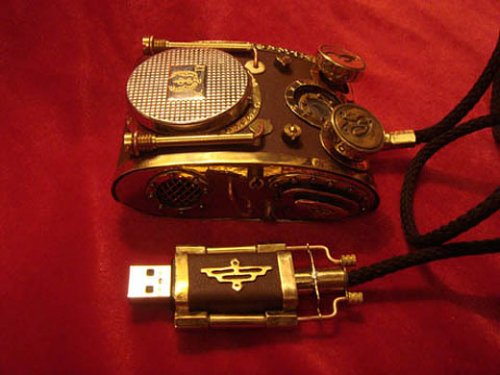 Steampunk mouse looks like a killer tank