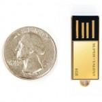 Super Talent PICO-C golden geek bling flash drive