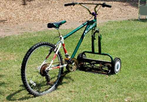 The Mowercycle: Heart attack on three wheels