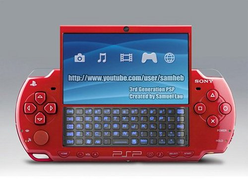 The PSP and Sidekick mate, make good looking kid