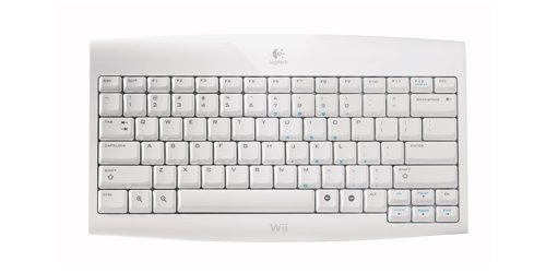 Logitech announces wireless Wii keyboard