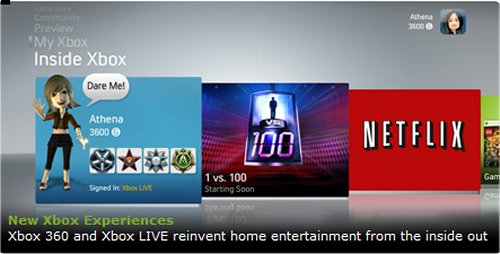 Xbox 360 to have Netflix movie streaming built in