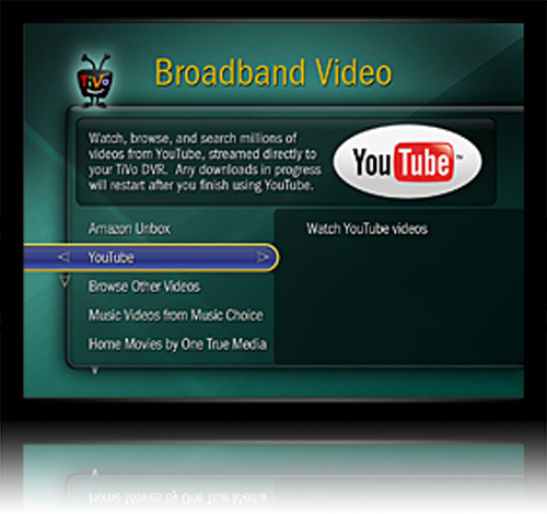 YouTube TiVo