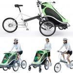 Zigo bike also carries your rugrats