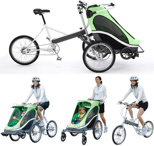 Zigo bike also carries your rugrats